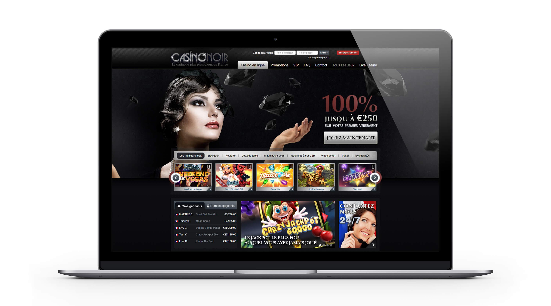 Casino Noir : le casino en ligne français par excellence