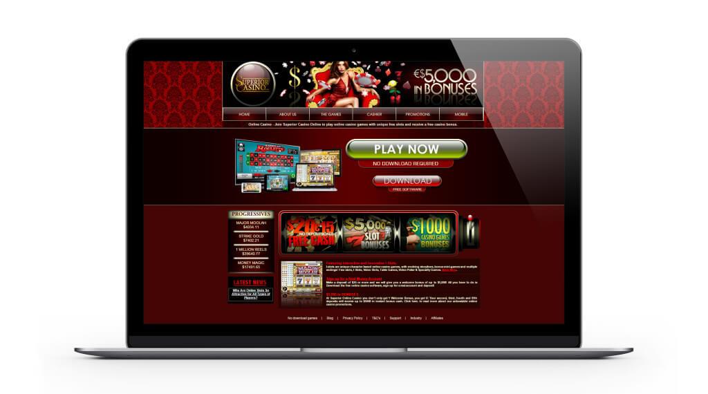 Superior casino : Casino en ligne gratuit