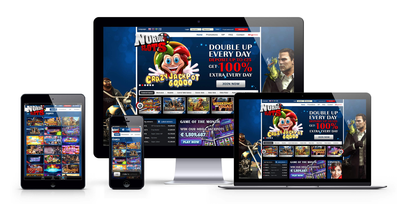 Nordic Slots : 100€ Bonus Bienvenue sur le meilleur casino en ligne
