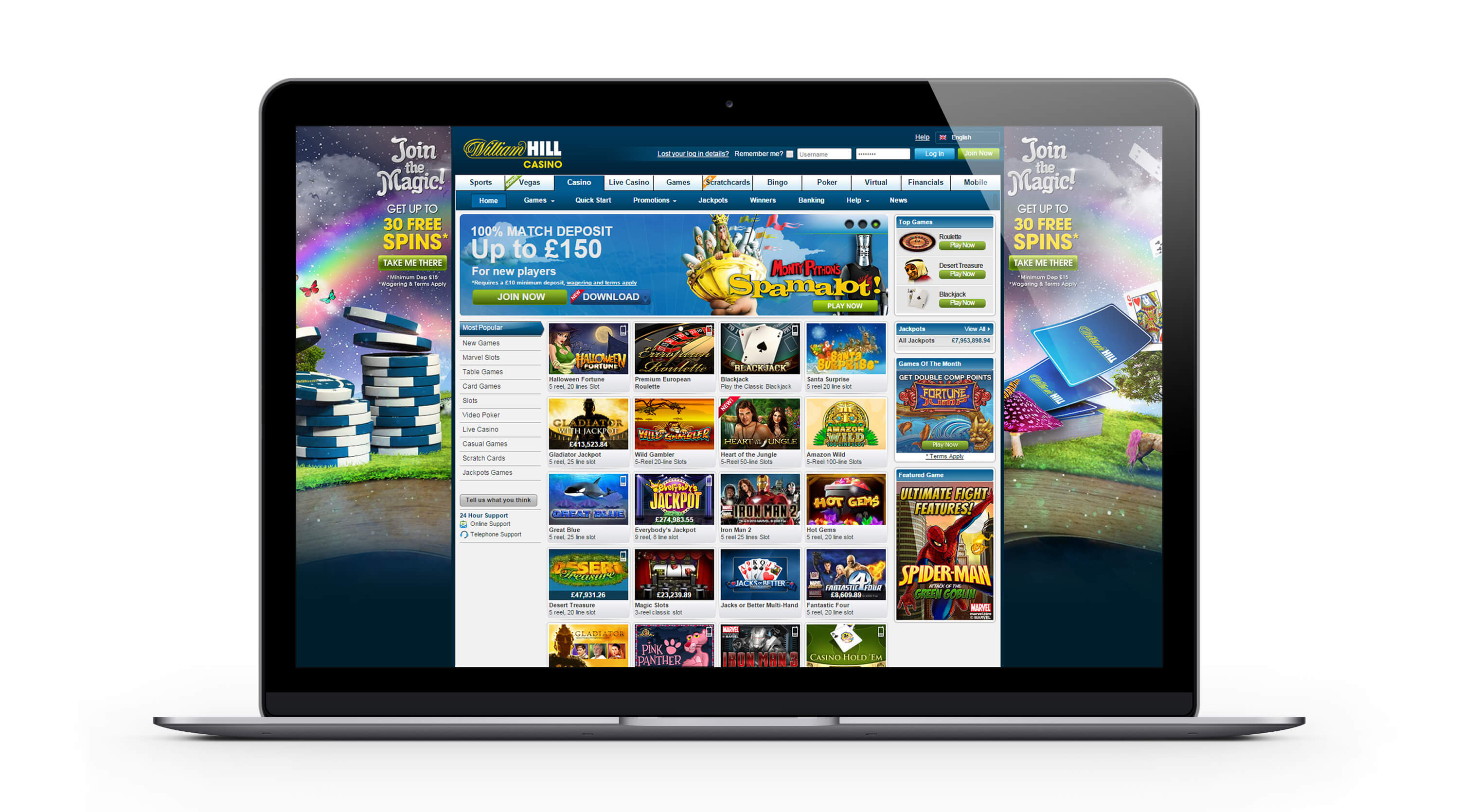 William Hill casino France Revue 2015- 3000€ Bonus Bienvenue