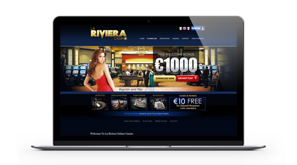 La Riviera casino : vivez le luxe de la riviera française en ligne