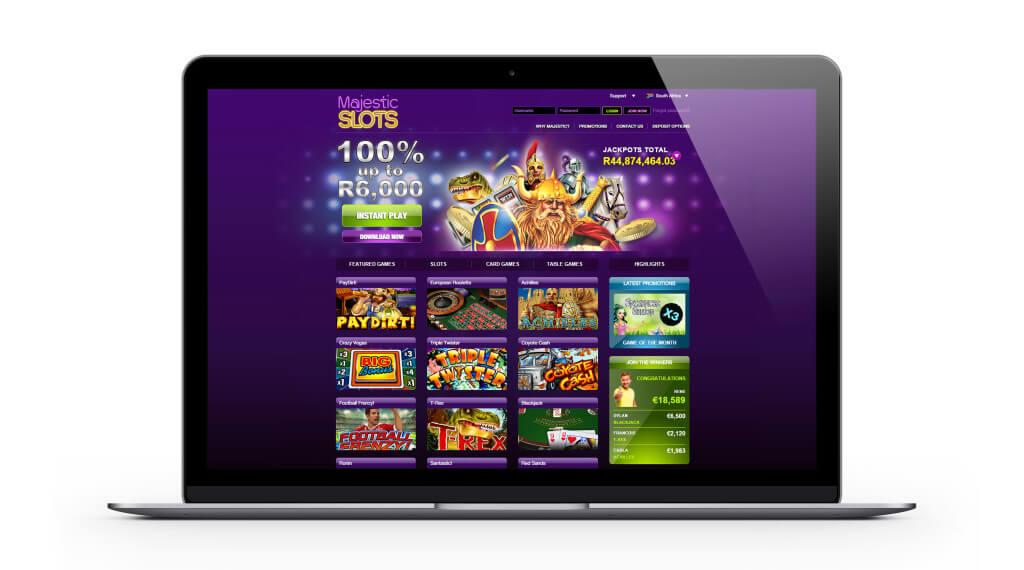 Majestic slots casino : 600€ de Bonus de Bienvenue