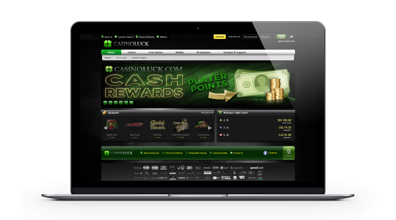 Casino Luck : jouez sur le casino en ligne qui vous apporte la chance!