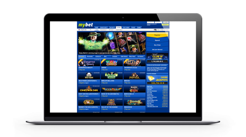 Mybet casino français : 500€ Bonus Bienvenue