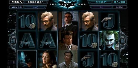 Jouez sur la machine à sous The Dark Knight Français Revue 2016