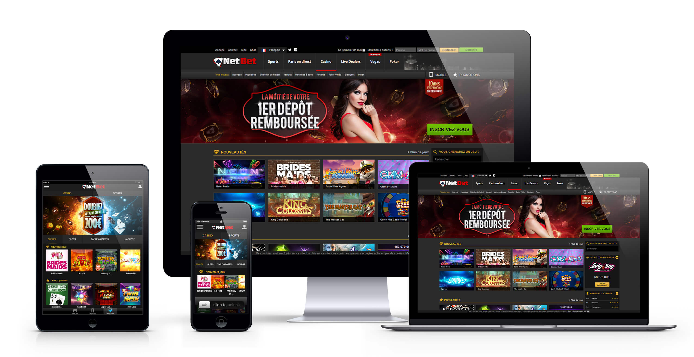 NetBet Casino : 200€ Bonus Bienvenue