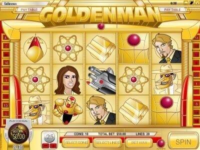 Goldenman : Jouez sur la machine à sous Goldenman Français Revue