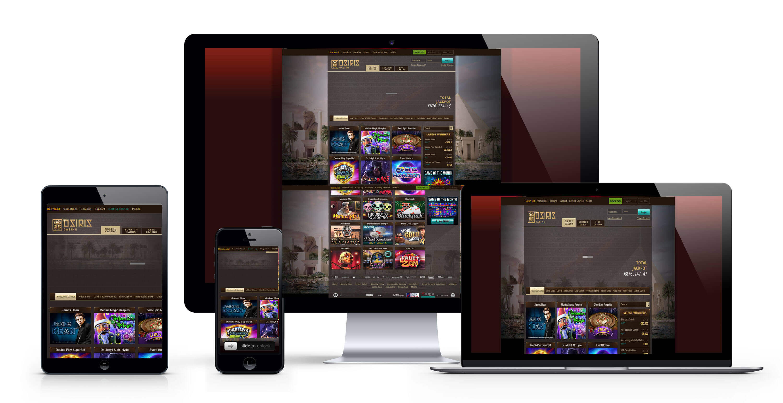 Osiris casino: 900€ Bonus Bienvenue gratuit