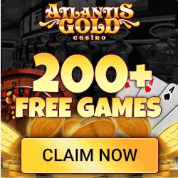 Jouez sur votre appareil mobile avec Atlantis Gold Casino