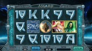 Machine à sous en ligne gratuit Asgard