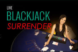 Règles de jeu au blackjack surrender