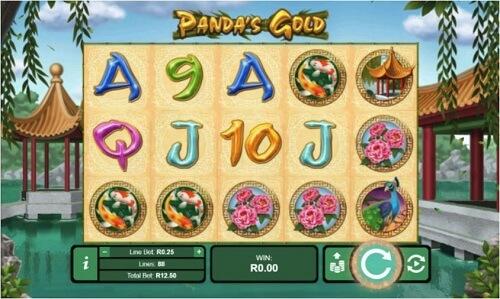 Jouer sur la slot Panda's Gold