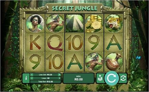 Jouer sur la slot Secret Jungle
