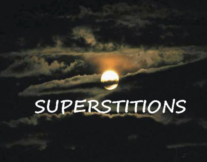 Superstitions du casino