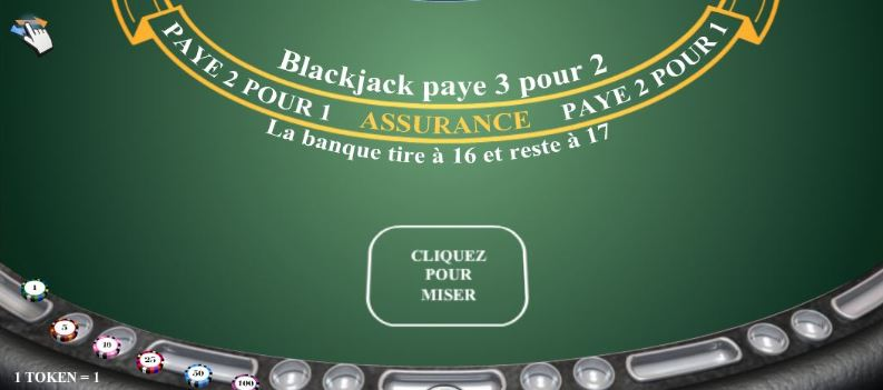 Assurance au blackjack