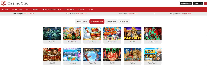 Casino Clic Jeux