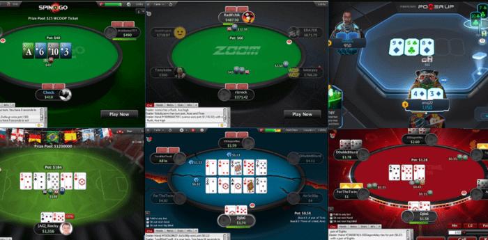 Variantes de Poker en ligne