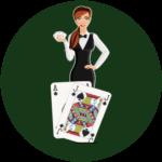 Casino avec Croupier en Direct