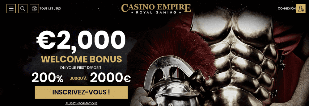 Casino Empire FR