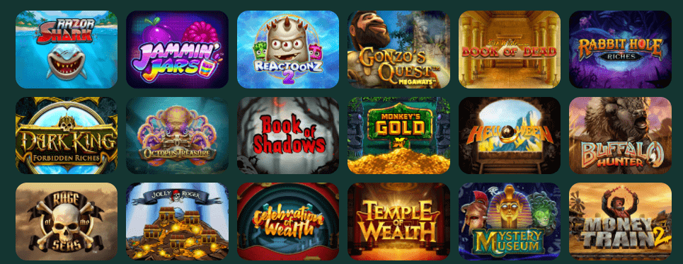 MonteCryptos Casino Jeux