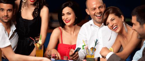 Joueurs au Casino Terrestres